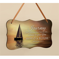 Sailboat Mini Print with Ribbon HDF06