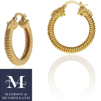 Madison  Mulholland - Naturus Hoop Earrings