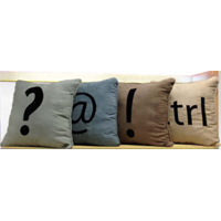 4-Pack Decorative Pillows