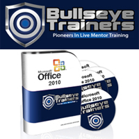 Bullseye Trainers - Microsoft Office 2010 Training Includes Excel SharePoint Project Management and more