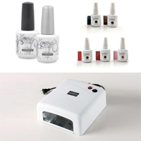 Gelish Home Nail Kit with FREE Shipping!