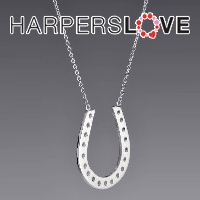 Horseshoe Pendant for 65 from HarpersLove