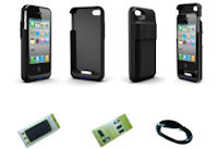 Battery BackupSpeaker Case for iphone 44s for 17 with shipping