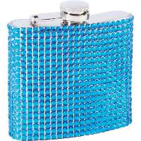Fashion Bling  6 Oz. Limited Edition Flask- 12 with FREE Shipping