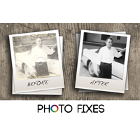 Two Photo Restorations or Retouches - $14