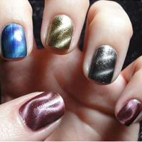 3-Pack Magnetic Nail Polish- 11 with Free Shipping