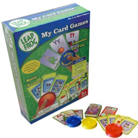 Leap Frog My Card Games - 12 with FREE Shipping