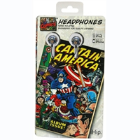 Vintage Comic Book Earbuds- $11 with Free Shipping