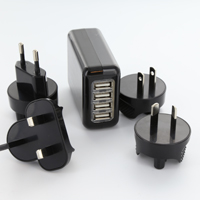 4 Port USB World Travel Adapter - $18 with FREE Shipping!